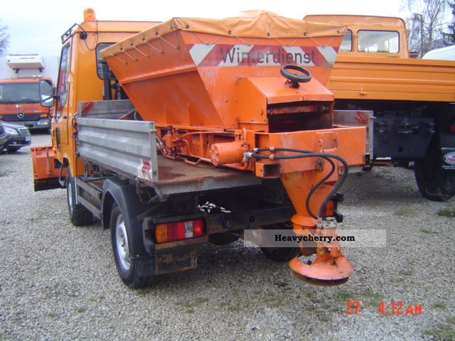 2005 Multicar  MAGMA 4x4 WINTERDIENST Construction machine Other construction vehicles photo