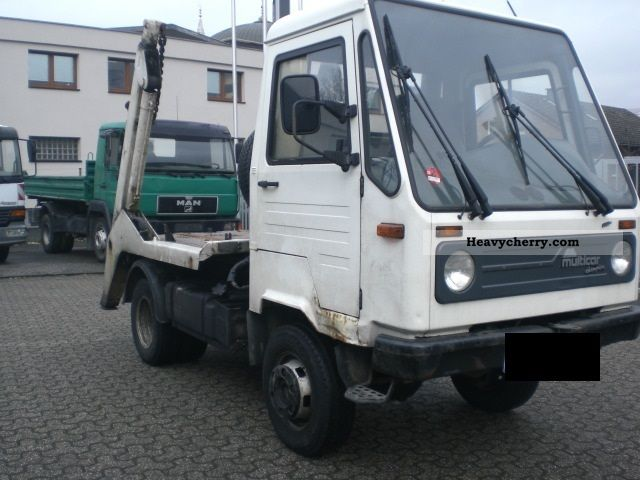 1997 Multicar  CHAMPION M26 4X4 1.HAND * Van or truck up to 7.5t Dumper truck photo