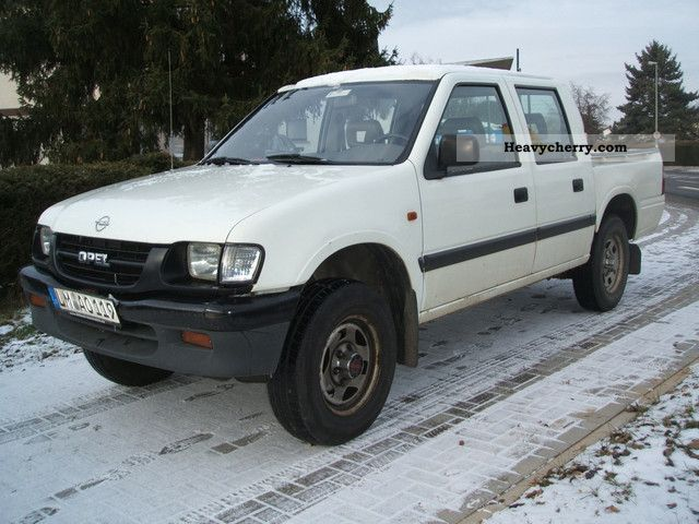 1999 Opel  Campo TDS 4x4 Pick Up Trucks\u003e Admission\u003e Doppelkabin Van or truck up to 7.5t Stake body photo