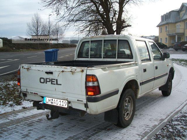 opel campo tds 4x4 pick up trucksu003e admissionu003e. Black Bedroom Furniture Sets. Home Design Ideas