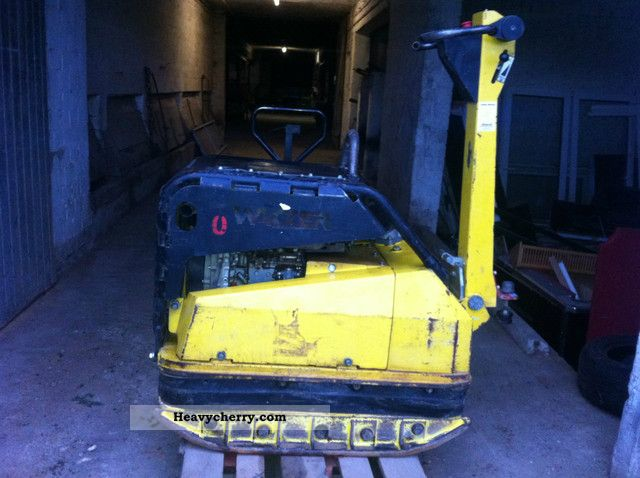 2004 Wacker  DPU 100-70 ** electric start, vibration plate 710 kg ** Construction machine Other construction vehicles photo