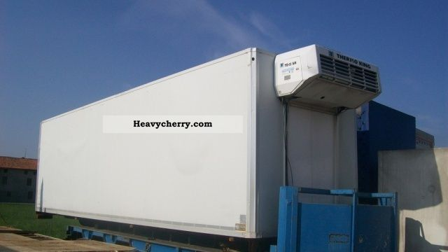 1997 BNG  FURGONATURA ISOTERMICA Trailer Refrigerator body photo
