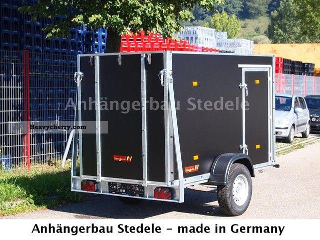 Single Axle Trailer Specs : Stedele single axle motorcycle trailer closed