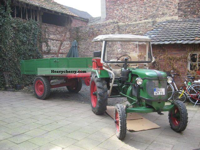 1955 Guldner  Güldner 22 B Agricultural vehicle Tractor photo
