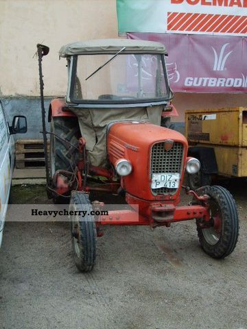 1968 Guldner  Guldner G35 Agricultural vehicle Tractor photo
