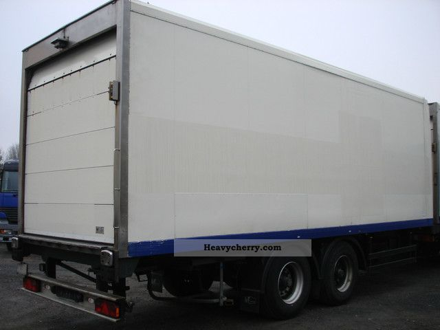Rohr Rk 18tk Thermo King Refrigerated Trailer And Roll Up