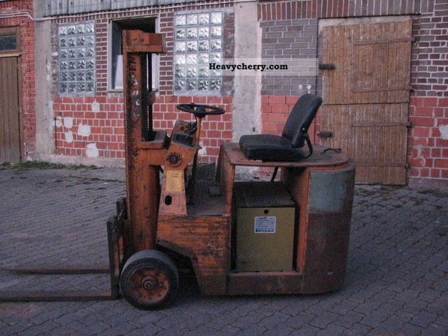 1969 Still  EFG 1501 V Forklift truck Front-mounted forklift truck photo