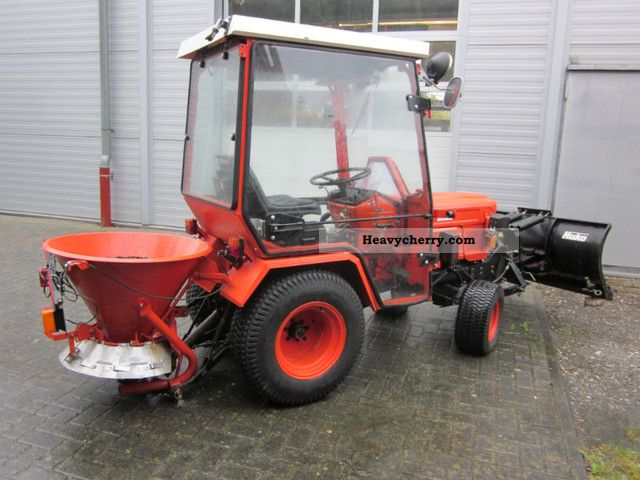 1986 Hako  HAKOTRAC 1800D snowplow Agricultural vehicle Other substructures photo