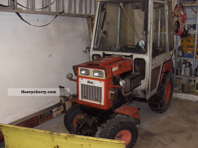 1980 Hako  Hakotrac 2000V Agricultural vehicle Other substructures photo