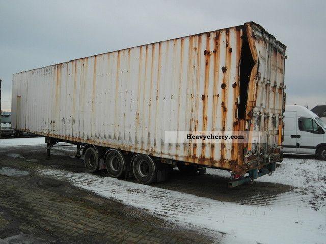2003 Trailor  Steel trailer Semi-trailer Box photo