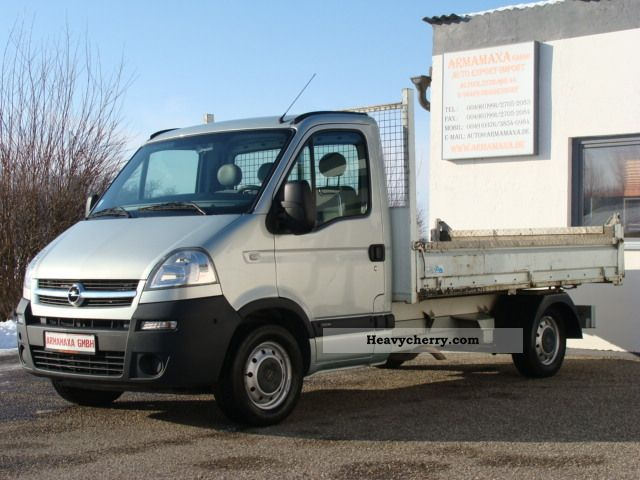 2008 Opel  Movano 2.5 Cdti 3.5T, air conditioning, cruise control, TRUCKS! Van or truck up to 7.5t Stake body photo
