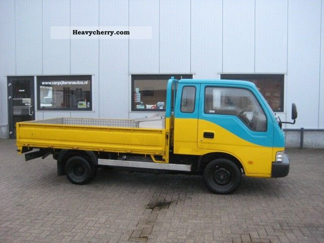 2000 Kia  K2700 Van or truck up to 7.5t Stake body photo