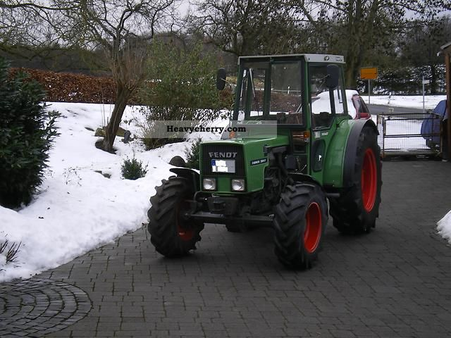 1982 Fendt  Farmer 204 P, 260P, 260S, 207P, 275S, 280S Agricultural vehicle Tractor photo