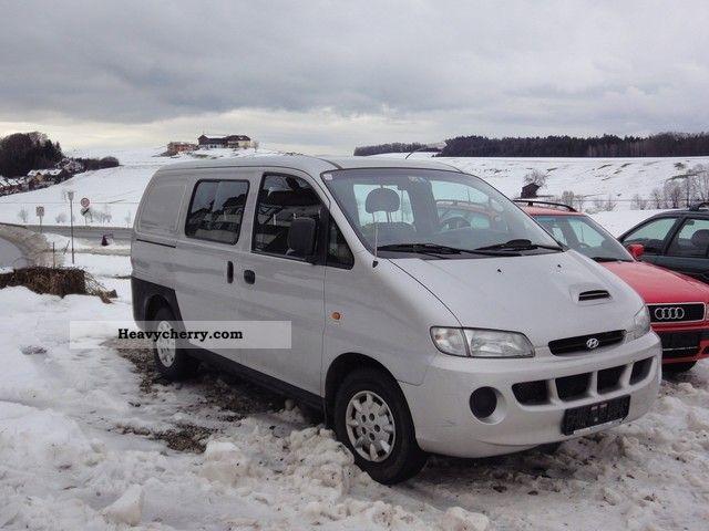 2000 Hyundai  H 1 - AIR Van or truck up to 7.5t Box-type delivery van photo