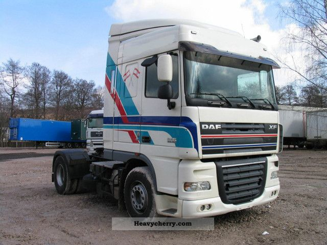 2006 DAF  105.460, MANUAL., Hydraulics, Intarder, Euro 5 Semi-trailer truck Standard tractor/trailer unit photo