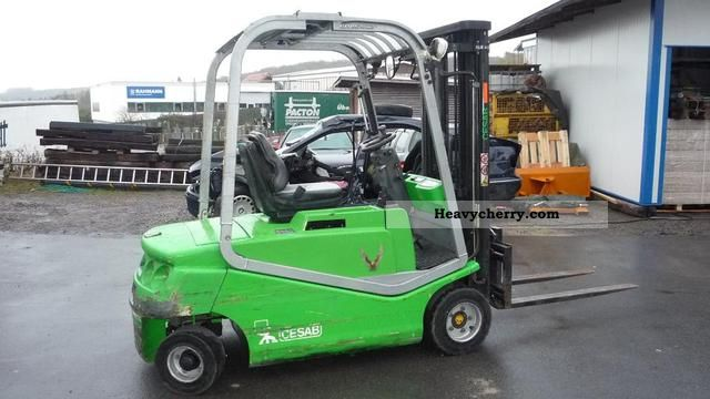2005 Cesab  Blitz 420 AC Forklift truck Front-mounted forklift truck photo