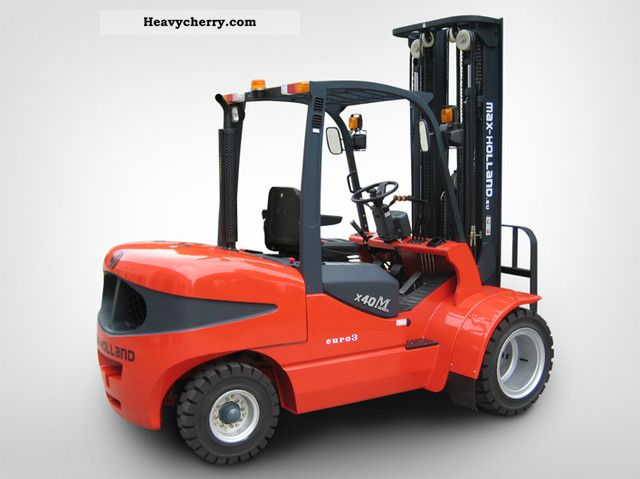 2012 Palfinger  Max Holland FD 35 T Forklift truck Front-mounted forklift truck photo