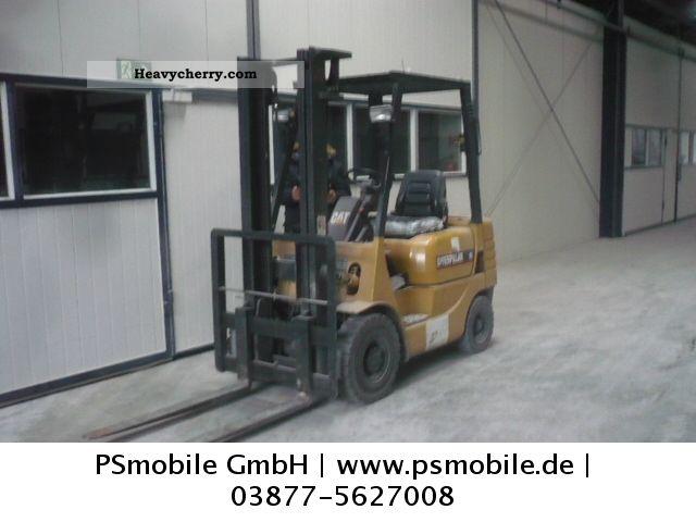 1996 CAT  Caterpillar Forklift truck High lift truck photo