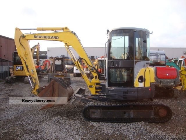 2007 New Holland  E50.25R Construction machine Mini/Kompact-digger photo