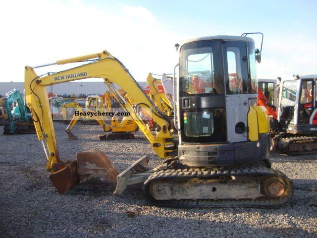 2007 New Holland  E40.2SR Construction machine Mini/Kompact-digger photo