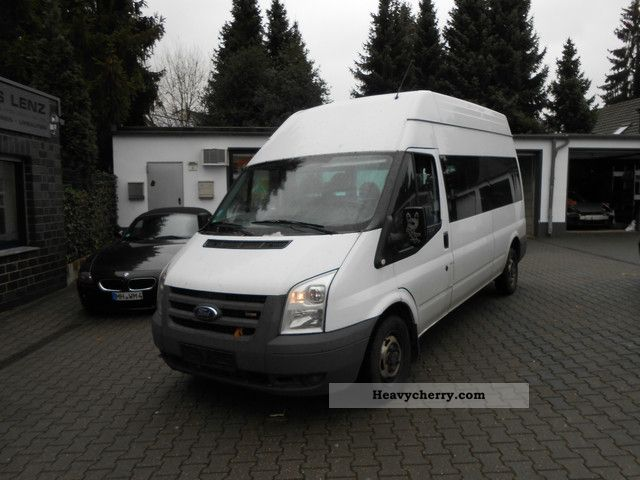2008 Ford  FT300L TDCI * 6 seater * EURO4 * AHK * guarantee * Van or truck up to 7.5t Box-type delivery van - high and long photo