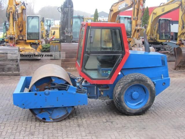 1990 ABG  160 V ** vibration / Operating hours 3600 ** Construction machine Rollers photo