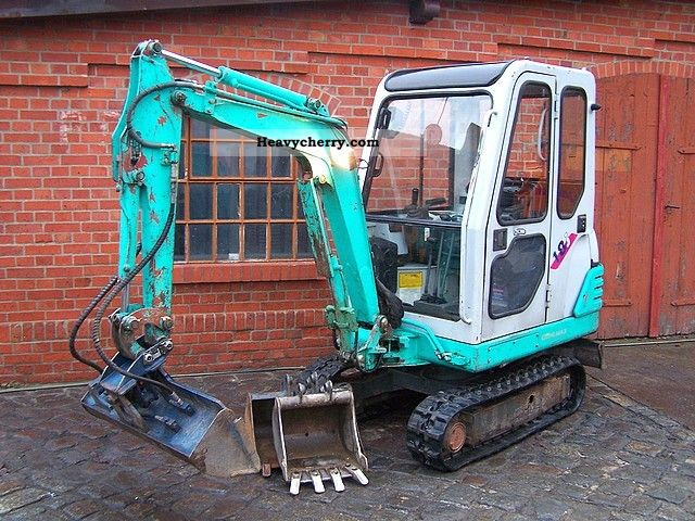 1998 Gehlmax  18j IHI 1.7 ton mini excavator excavator orig 2390h Construction machine Mini/Kompact-digger photo