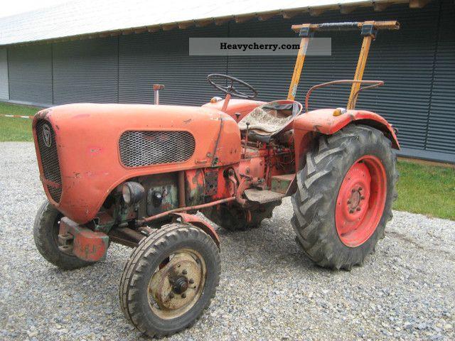 1961 Guldner  Guldner G 20 Agricultural vehicle Farmyard tractor photo