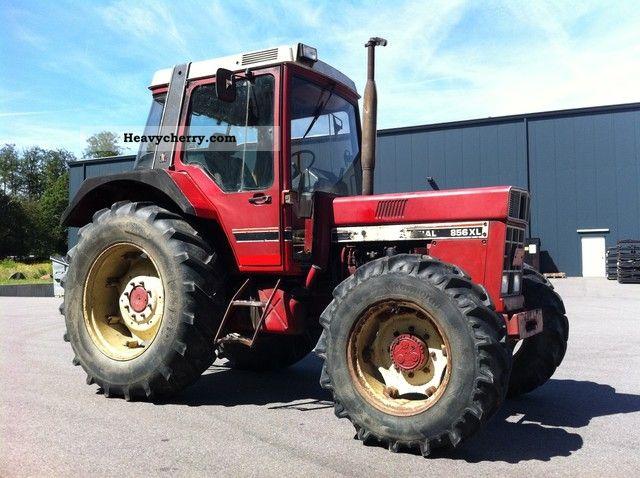ihc 856 xl wd cab turbo t v 1985 agricultural tractor. Black Bedroom Furniture Sets. Home Design Ideas