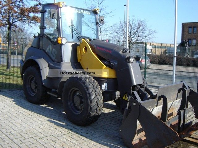 2010 Ahlmann  AS Booster 700, swing loaders, 4in1, fork, top Construction machine Wheeled loader photo