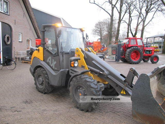 2011 Ahlmann  AX 700 Construction machine Wheeled loader photo