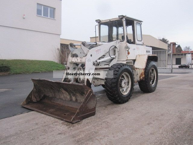 1991 Ahlmann  AS 9 / Schwenklader Construction machine Wheeled loader photo