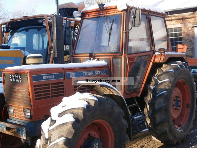 1981 Same  Tiger Six 105 Agricultural vehicle Tractor photo