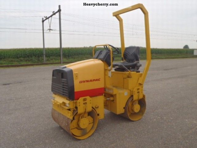2001 Dynapac  CC 82 Construction machine Rollers photo