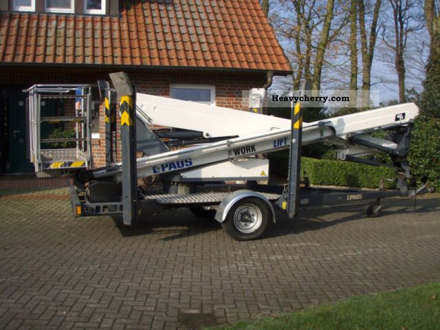 2006 Paus  GT21A Construction machine Working platform photo