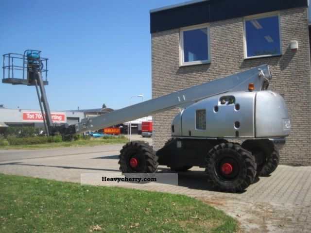 2001 Haulotte  H 23 TPX Gelenkarbeitsbuehne Construction machine Working platform photo