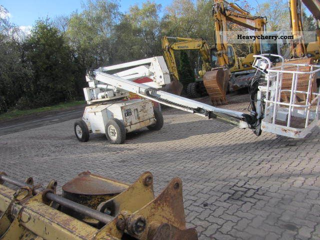 1996 Haulotte  HA 16 E ** lift / 16.5 m working height ** Construction machine Working platform photo