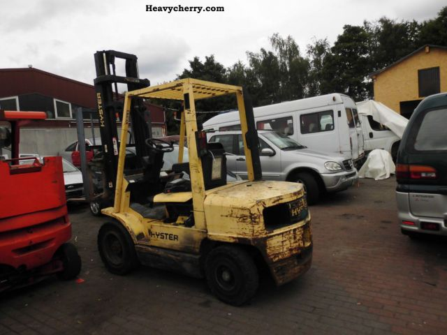 1999 Hyster  3:00 with side shift Forklift truck Front-mounted forklift truck photo