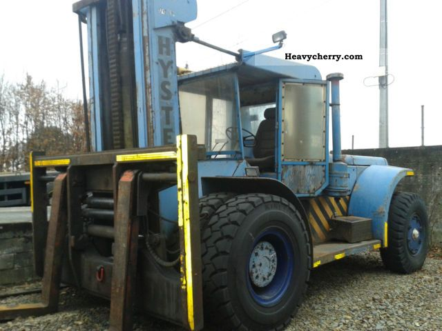 1979 Hyster  H360B, 15 t. WLL., Side shift, verst.Gabeln Forklift truck Front-mounted forklift truck photo