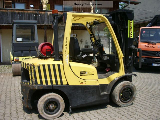 2007 Hyster  H4.0 FT 5 Triplex Forklift truck Front-mounted forklift truck photo