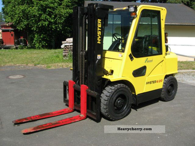 2001 Hyster  H 4.00 XM-5 Forklift truck Front-mounted forklift truck photo