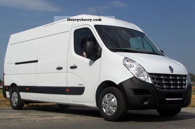 2012 Renault  MASTER L3H2, AIR, 2.3 DCI 125 HP, EURO 5 Van or truck up to 7.5t Box-type delivery van - high and long photo