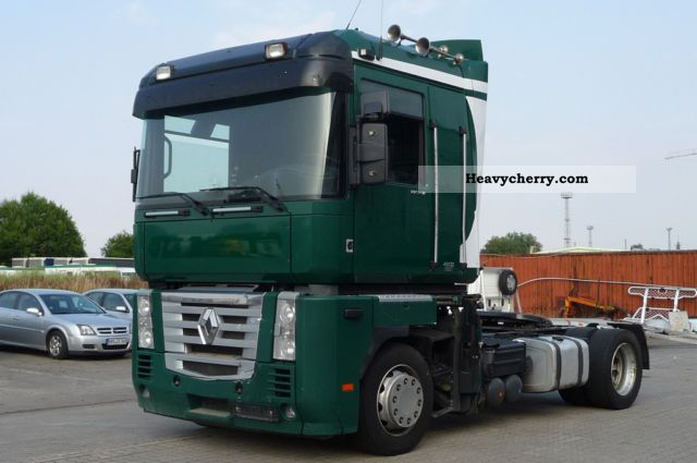 2007 Renault  Magnum 460 DXI Euro 5 accident Semi-trailer truck Volume trailer photo