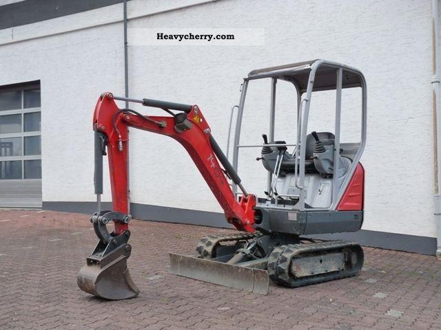 2008 Neuson  1404 mini excavator Construction machine Mini/Kompact-digger photo
