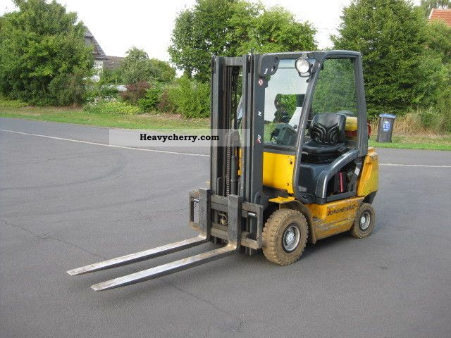 2001 Jungheinrich  TFG 20 Free Lift Triplex + + Containerfähig Forklift truck Front-mounted forklift truck photo