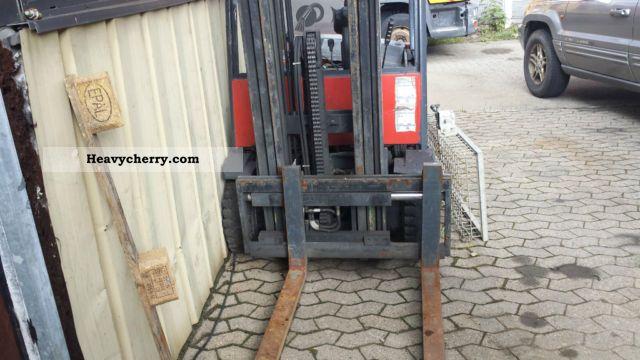 2012 Jungheinrich  EFG16 Forklift truck Front-mounted forklift truck photo